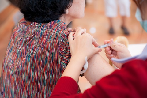 """ขอเชิญประชาชนที่สนใจ เข้ารับ """"ฉีดวัคซีนป้องกันโรคไข้หวัดใหญ่"""""""