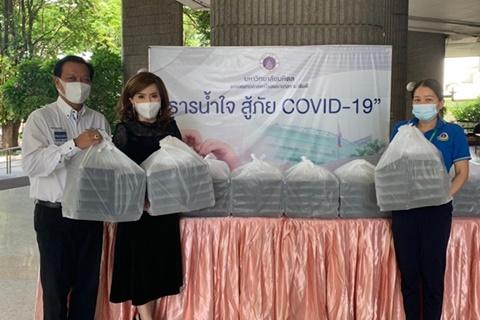 ผู้มอบพลังน้ำใจ ต้านวิกฤต COVID-19 (ชุดที่ 1) เดือนมิถุนายน 2564