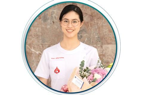 แสดงความยินดี นางสาวธนพร เจริญงามเสมอ นักศึกษาแพทย์ชั้นปีที่ 6