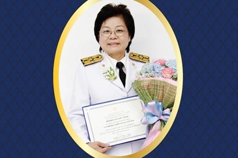 """ขอแสดงความยินดีแก่ ผศ.ดร.จริยา วิทยะศุภร ในโอกาสได้รับประทานรางวัล """"พยาบาลดีเด่น ประจำปี 2557"""" เมื่อวันที่ 23 มิถุนายน 2557 ณ โรงแรมปรินซ์พาเลช"""