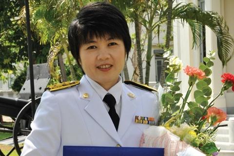 รับรางวัลพยาบาลดีเด่น สมาคมพยาบาลแห่งประเทศไทยฯ ประเภทผู้ปฏิบัติการพยาบาล ประจำปี 2558