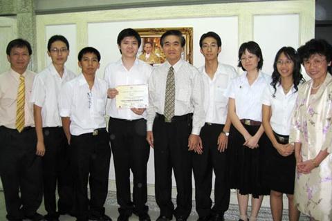อีกย่างก้าวของเด็กไทย...อีกหนึ่งความภาคภูมิใจของคณะแพทย์รามาฯ