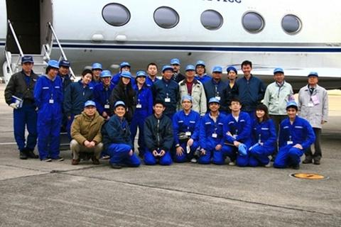 นักศึกษาแพทย์รามาธิบดี  ได้รับคัดเลือกร่วมทดลองบนเครื่องบิน F–5 ที่ญี่ปุ่น