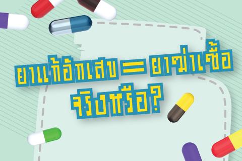 เกร็ดความรู้เรื่อง ยาต้านจุลชีพ (แบคทีเรีย เชื้อรา และ ไวรัส)