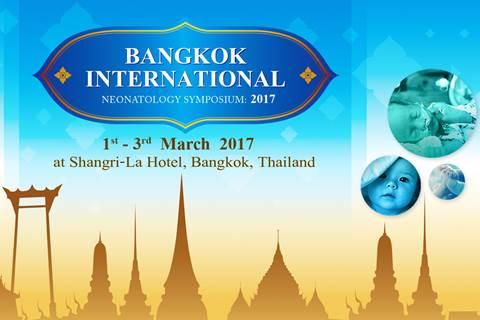 Bangkok International Neonatology Symposium: 2017