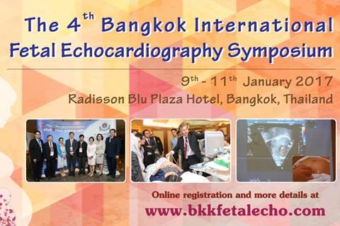 The 4th Bangkok International Fetal Echocardiography Symposium