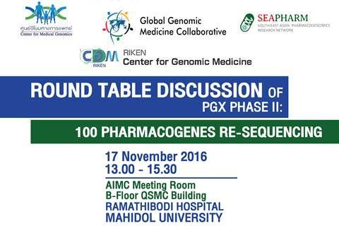 Pharmacogenomic  phase II : 100 pharmacogenes re-sequencing