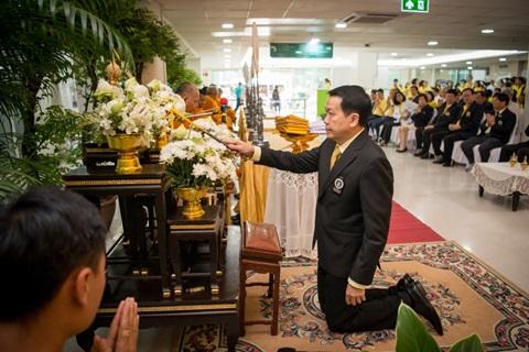 พิธีบำเพ็ญกุศลเนื่องในวาระครบ 3 ปี การเสด็จสวรรคตของพระบาทสมเด็จพระบรมชนกาธิเบศร มหาภูมิพลอดุลยเดชมหาราช บรมนาถบพิตร