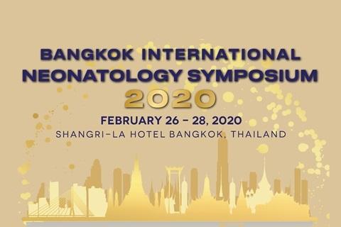 BANGKOK INTERNATIONAL NEONATOLOGY SYMPOSIUM 2020