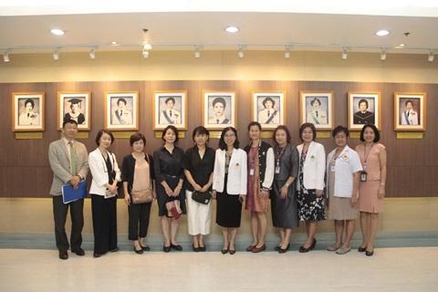 โรงเรียนพยาบาลรามาธิบดี ให้การต้อนรับคณะผู้บริหารจาก Osaka University Hospital