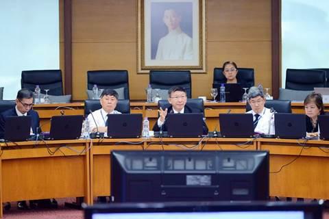 ประชุมคณะกรรมการประจำมหาวิทยาลัยและคณะกรรมการบริหารทรัพยากรบุคคลมหาวิทยาลัยมหิดล ประจำปี 2560