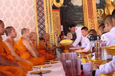 งานกฐินพระราชทาน ณ วัดพระแท่นดงรัง พระอารามหลวง จังหวัดกาญจนบุรี