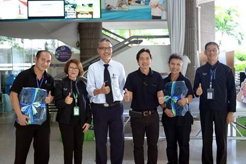 รับมอบของรางวัลการแข่งขันกีฬารามาสามัคคี ประจำปี 2559 และโครงการผู้นำสุขภาพดี
