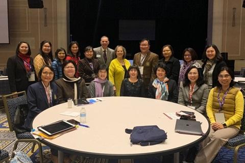 ผู้อำนวยการโรงเรียนพยาบาลรามาธิบดี และรองผู้อำนวยการโรงเรียนพยาบาลรามาธิบดี ฝ่ายวิเทศสัมพันธ์ เข้าร่วมประชุม Biennial Convention ครั้งที่ 45