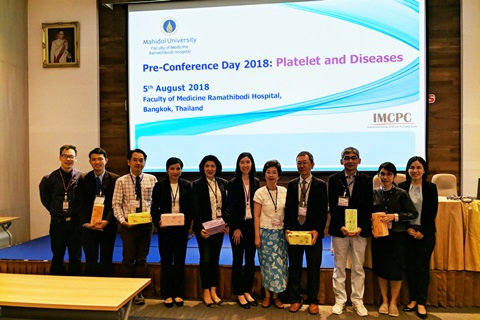 Pre-Conference Day 2018 Platelet and Diseases