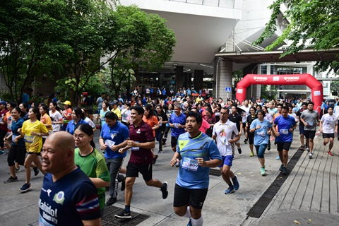 """งาน """"การแข่งขันเดิน-วิ่งประเพณี รามาฯ สามัคคี"""" ประจำปี 2562"""