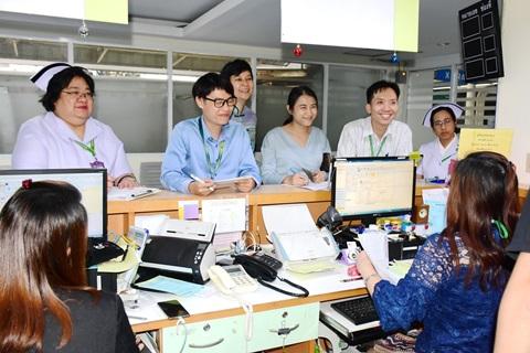 ซ้อมแผนบริหารความต่อเนื่องในการให้บริการผู้ป่วยนอก กรณีระบบสารสนเทศขัดข้อง