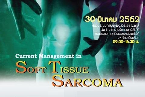 Current Management in Soft Tissue Sarcoma