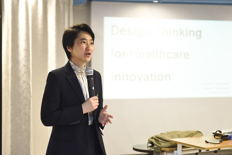 "อบรม ""Design Thinking for Healthcare Innovation"""