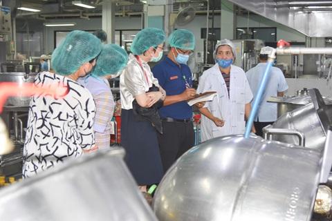 กิจกรรม Leadership Walk Round ฝ่ายโภชนาการ คณะแพทยศาสตร์โรงพยาบาลรามาธิบดี มหาวิทยาลัยมหิดล