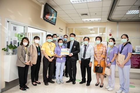 กิจกรรม Leadership Walk Round ฝ่ายการพยาบาล ศูนย์การแพทย์สมเด็จพระเทพรัตน์ โดยกลุ่มภารกิจดูแลสุขภาพ