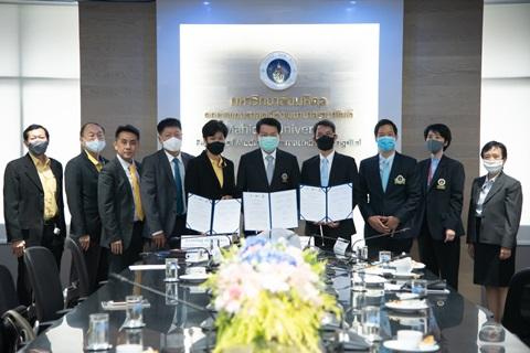 พิธีลงนามบันทึกข้อตกลงความร่วมมือ (MOU) เพื่อสนับสนุนและพัฒนานวัตกรรมทางการแพทย์ของไทยสู่อุตสาหกรรมเครื่องมือแพทย์ ระหว่าง คณะแพทยศาสตร์โรงพยาบาลรามาธิบดี มหาวิทยาลัยมหิดล กับสมาคมอุตสาหกรรมไฟฟ้าอิเล็กทรอนิกส์และโทรคมนาคมไทย และสถาบันไฟฟ้าและอิเล็กทรอนิกส์