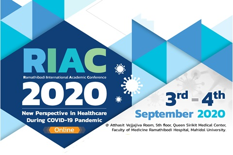 RIAC 2020 New Perspective in Healthcare During COVID-19 Pandemic