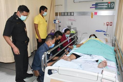 """ฝ่ายการพยาบาล งานการพยาบาลเวชศาสตร์ฉุกเฉิน หน่วยรถพยาบาลการแพทย์ฉุกเฉินและส่งต่อ โรงพยาบาลรามาธิบดี จัดกิจกรรม """"ซ้อมแผนรับมือผู้ป่วยก้าวร้าว"""""""