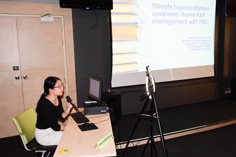 การบรรยายของศูนย์โรคการนอนหลับ เรื่อง Obesity Hypoventilation Syndrom. What's the update?