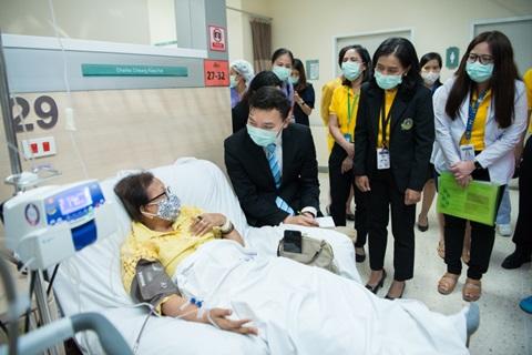 """งานการเยี่ยมเพื่อประเมินการรับรองเฉพาะโรค """"การดูแลผู้ป่วยมะเร็งปอดแบบสหสาขา : Ramathibodi Lung Cancer Consortium (RLC)"""""""