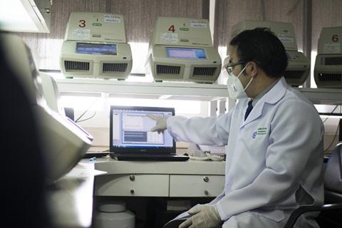 การตรวจหาเชื้อ COVID-19 ทางน้ำลายและการใช้เทคโนโลยี LAMP PCR