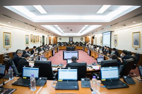 ประชุมคณะกรรมการประจำมหาวิทยาลัยและคณะกรรมการบริหารทรัพยากรบุคคลมหาวิทยาลัยมหิดล ครั้งที่ 29 ประจำปี 2563
