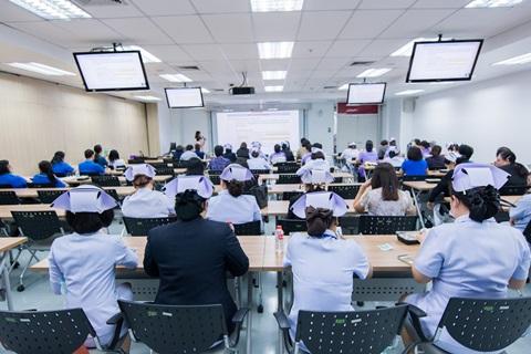 บรรยากาศการแลกเปลี่ยนเรียนรู้ 2P Safety หมวด E: Environment and Working Conditions หัวข้อ Workplace Violence