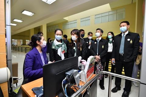 คณะนักศึกษาหลักสูตรประกาศนียบัตรธรรมาภิบาลทางการแพทย์สำหรับผู้บริหารระดับสูง (ปธพ.) รุ่นที่ 9 ศึกษาดูงานคณะแพทยศาสตร์โรงพยาบาลรามาธิบดี มหาวิทยาลัยมหิดล