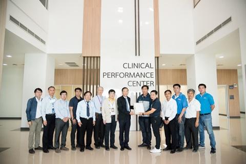การประชุมคณะกรรมการตรวจรับพัสดุ จ้างผู้ควบคุมงาน ครั้งที่ 3/2564 โครงการอาคารกายวิภาคทางคลินิก และการประชุมตรวจรับพัสดุ อาคารปรีคลินิกและศูนย์วิจัย สถาบันการแพทย์จักรีนฤบดินทร์
