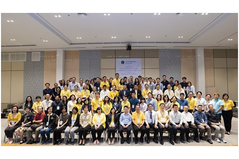 """ประชุมสัมมนาเชิงปฏิบัติการ """"การพัฒนาหลักสูตรแพทยศาสตรบัณฑิตและความร่วมมือด้านการวิจัย"""""""