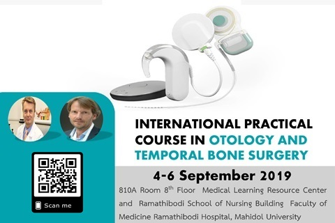 INTERNATIONAL PRACTICAL COURSE IN OTOLOGY AND TEMPORAL BONE SURGERY