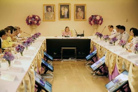 สมเด็จพระกนิษฐาธิราชเจ้าฯ เสด็จทรงเป็นประธาน การประชุมใหญ่มูลนิธิรามาธิบดีฯ ประจำปี 2562
