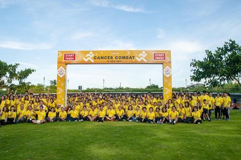 รามาฯ ร่วมงานวิ่งเชิงสัญลักษณ์ และงานแถลงข่าวครั้งที่ 2 พร้อมเปิดยุทธการต้านมะเร็งฯ