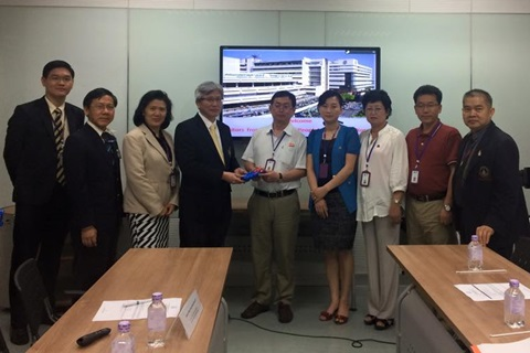 Welcome the visitors from DPR Korea