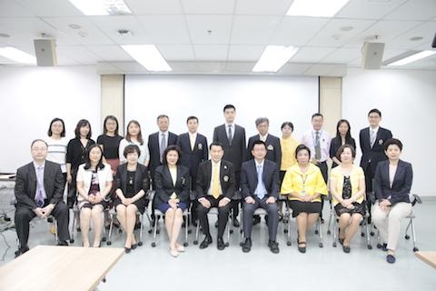 คณะผู้แทนจาก Peking University Health Science Center เยือนรามาธิบดี