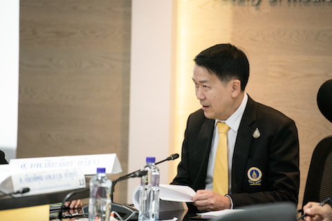 ประชุมคณะกรรมการอำนวยการร่วมกับกรรมการบริหารกลุ่มสถาบันแพทยศาสตร์แห่งประเทศไทย ครั้งที่ 2/2562