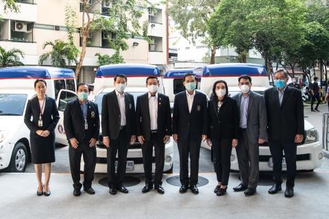 บริษัท ทิพยประกันภัย จำกัด (มหาชน) มอบรถเพื่อใช้สำหรับรับผู้ป่วย COVID-19