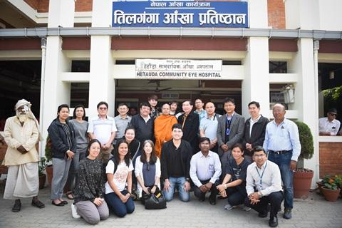 โครงการผ่าตัดตาเพื่อผู้ยากไร้ในเนปาล ในโอกาสฉลองครบรอบ 60 ปี ความสัมพันธ์ทางการทูตไทย-เนปาล