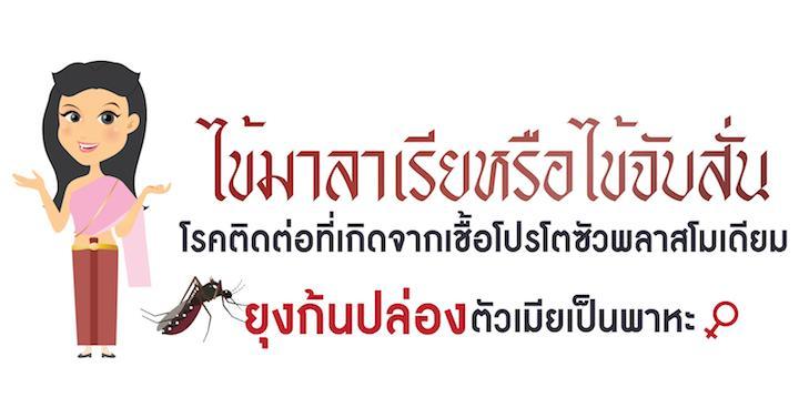 ไข้มาลาเรียหรือไข้จับสั่น