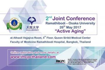 The 2nd Joint Conference Ramathibodi – Osaka University